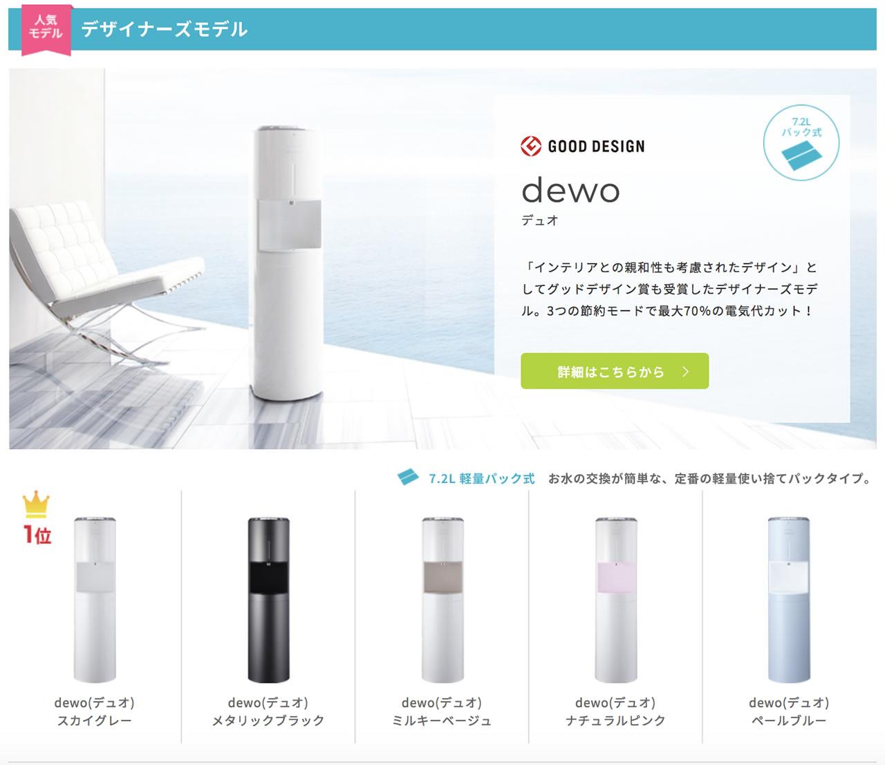 GOODDESING賞受賞「dewo(デュオ)」